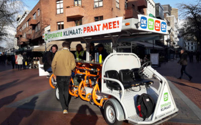 Klimaatfiets in Eindhoven